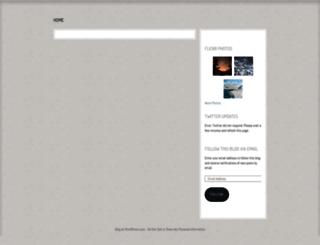 maxinelove.wordpress.com screenshot