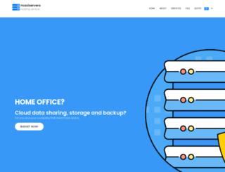 maxiservers.com.br screenshot