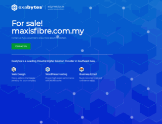 maxisfibre.com.my screenshot