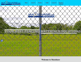 maxishare.co.za screenshot