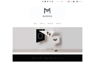 maxitani.com screenshot