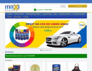 maxitintas.com.br screenshot