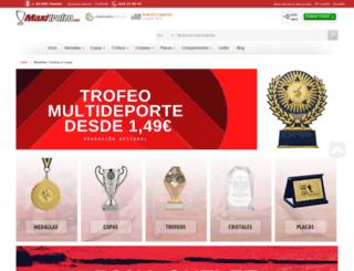 maxitrofeo.com screenshot