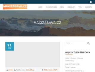 maxizabava.cz screenshot