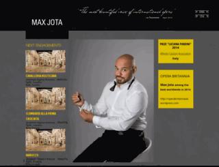 maxjota.com screenshot