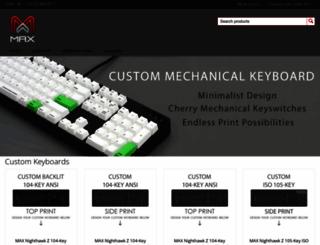 maxkeyboard.com screenshot