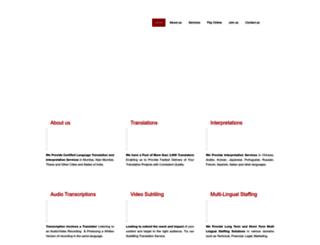 maxlanguagetranslations.com screenshot