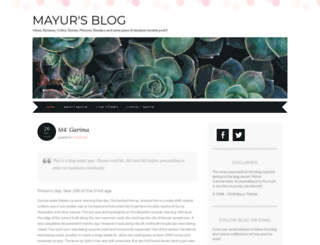 maxmayur.wordpress.com screenshot