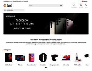 maxmovil.com screenshot