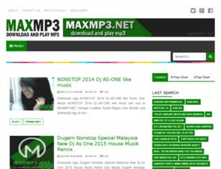 maxmp3.net screenshot