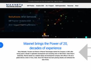 maxnet-tech.com screenshot