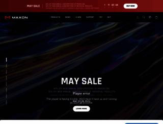 maxon-campus.net screenshot