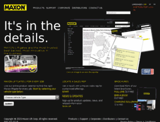maxon.centric.com screenshot