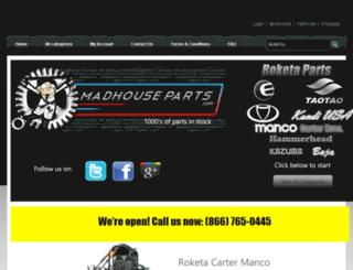 maxpartslist.com screenshot