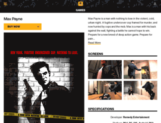 maxpayne.com screenshot