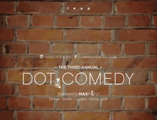 maxpointdotcomedy.com screenshot