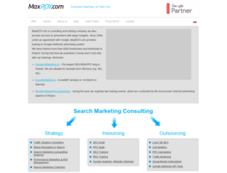 maxroy.com screenshot