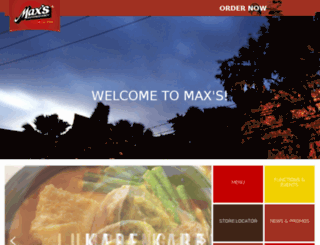 maxschicken.com.ph screenshot