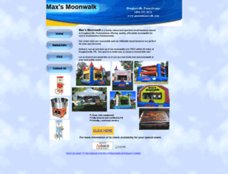 maxsmoonwalk.com screenshot