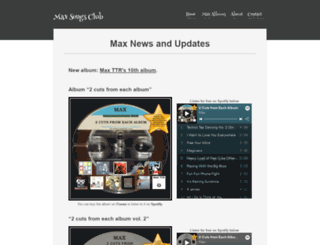 maxsongsclub.com screenshot