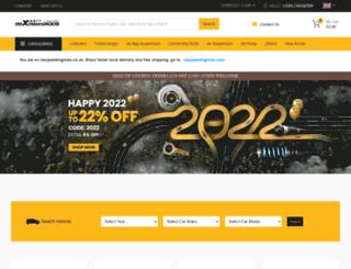 maxspeedingrods.co.uk screenshot
