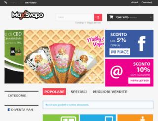maxsvapo.net screenshot