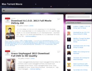 maxtorrentmovie.wordpress.com screenshot