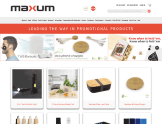 maxumcollection.co.nz screenshot