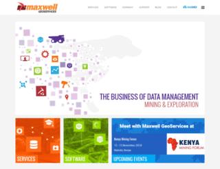 maxwellgeoservices.com.au screenshot