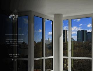 maxwellplace.com screenshot