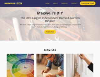 maxwellsdiy.co.uk screenshot