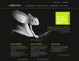 maxworker.at screenshot