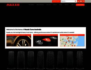 maxxistyres.com.au screenshot