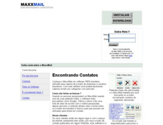maxxmail.com.br screenshot