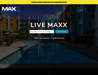 maxxproperties.com screenshot