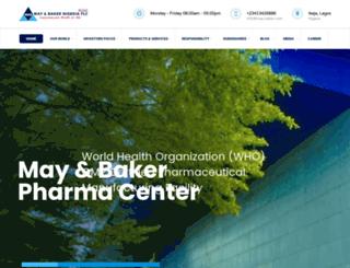 may-baker.com screenshot