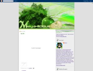 maya-licious.blogspot.com screenshot