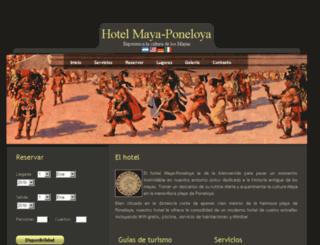 maya-poneloya.somee.com screenshot