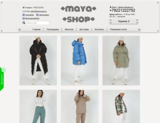 maya-shop.ru screenshot