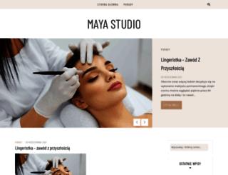 maya-studio.pl screenshot