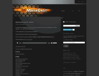 mayacast.com screenshot