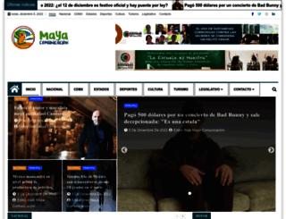 mayacomunicacion.com.mx screenshot