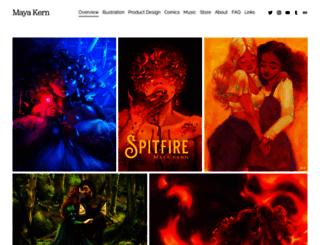 mayakern.com screenshot