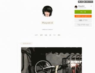 mayakid.com screenshot