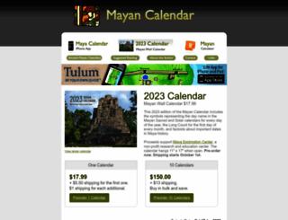 mayan-calendar.com screenshot