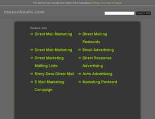 mayankauto.com screenshot