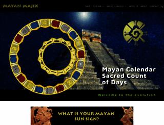 mayanmajix.com screenshot
