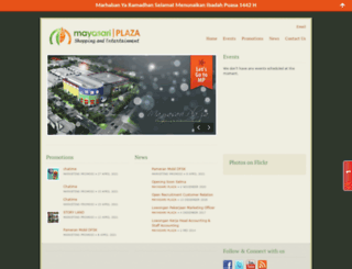mayasariplaza.com screenshot