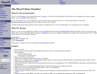 mayavi.sourceforge.net screenshot
