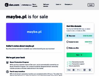maybe.pl screenshot